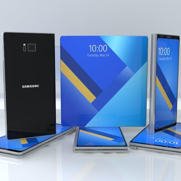Samsung X 3d model