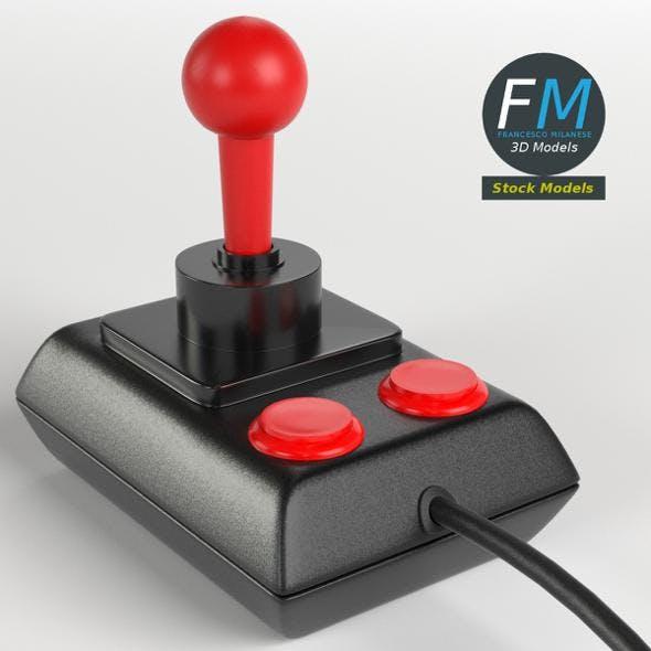 Vintage Joystick - 3DOcean Item for Sale