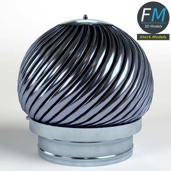 Rotating chimney cap - 3DOcean Item for Sale