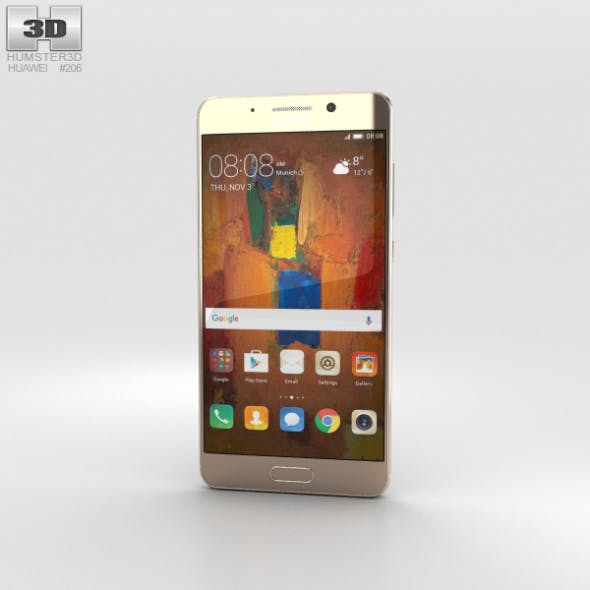 Huawei Mate 9 Pro Haze Gold