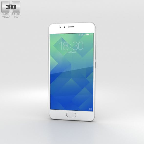 Meizu M5s Moonlight Silver - 3DOcean Item for Sale