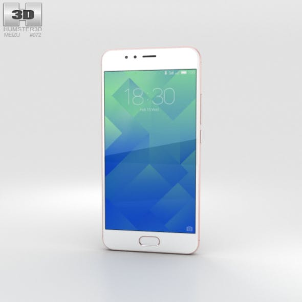 Meizu M5s Rose Gold
