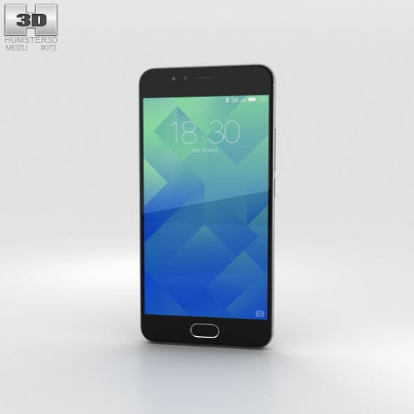 Meizu M5s Stay Gray - 3DOcean Item for Sale