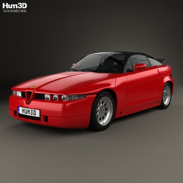 Alfa Romeo SZ 1989 - 3DOcean Item for Sale