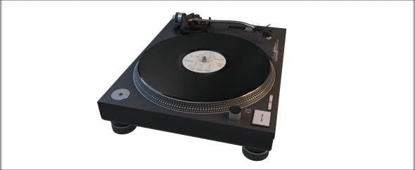 Technics SL-1210MK2 Turntable - 3DOcean Item for Sale