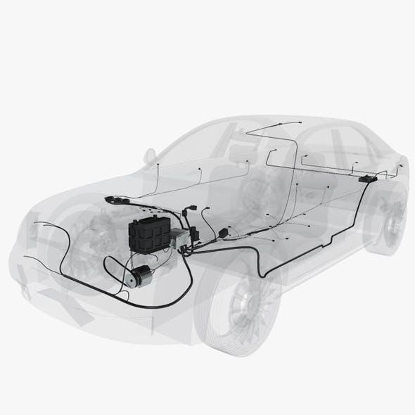 Wiring Inside a Car