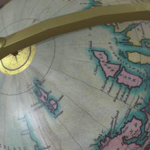 Antique Nautical Globe