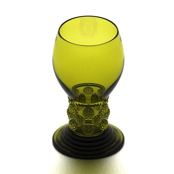 Dutch Golden Age Wine Glass - 3DOcean Item for Sale