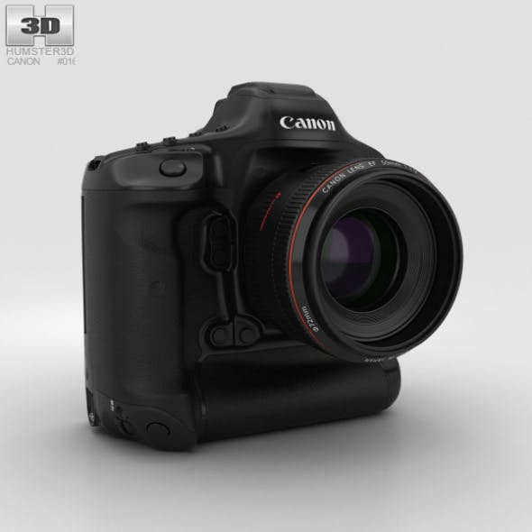 Canon EOS-1D X Mark II - 3DOcean Item for Sale