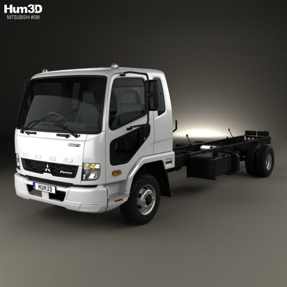 Mitsubishi Fuso Fighter (1024) Chassis Truck 2017 - 3DOcean Item for Sale