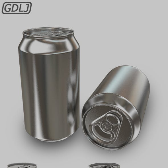 Soda Can [ Low Poly & High Poly ]