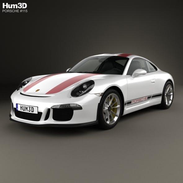 Porsche 911 R (991) 2017 - 3DOcean Item for Sale
