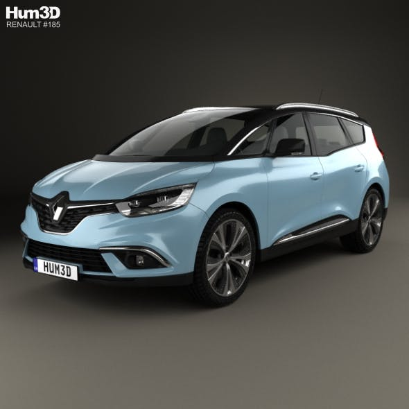 Renault Grand Scenic Dynamique S Nav 2017