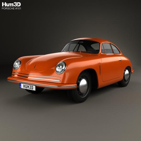 Porsche 356 Coupe 1948 - 3DOcean Item for Sale