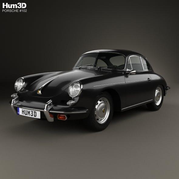 Porsche 356B Carrera 2 Coupe 1962
