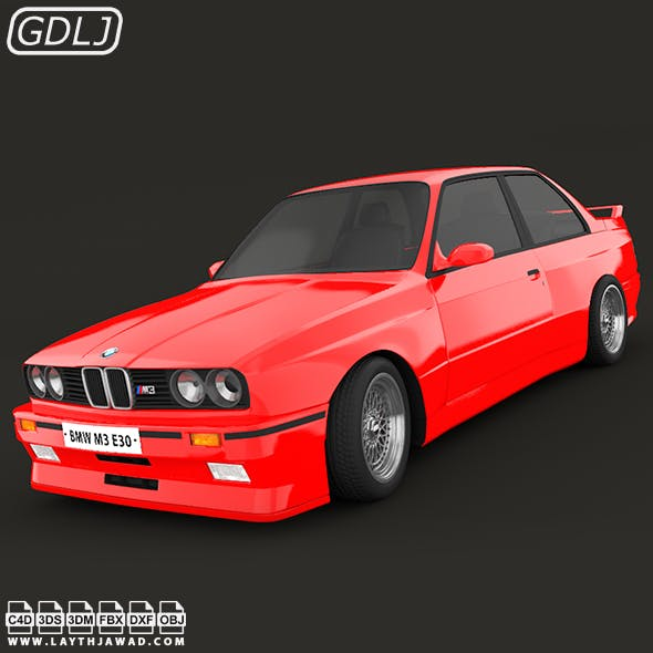 BMW M3 E30 - 3DOcean Item for Sale