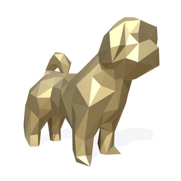 dog shih tzu figure
