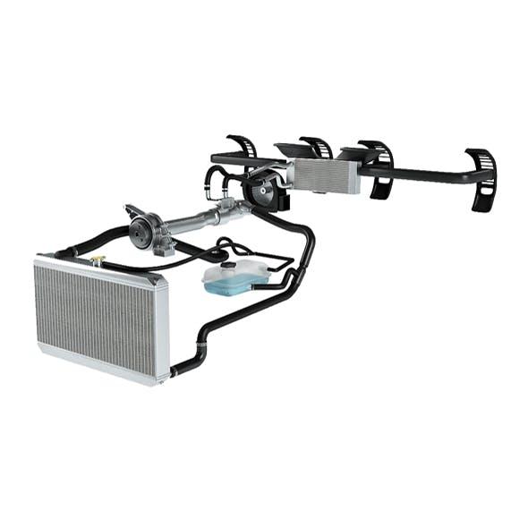 Car Cooling System 3D