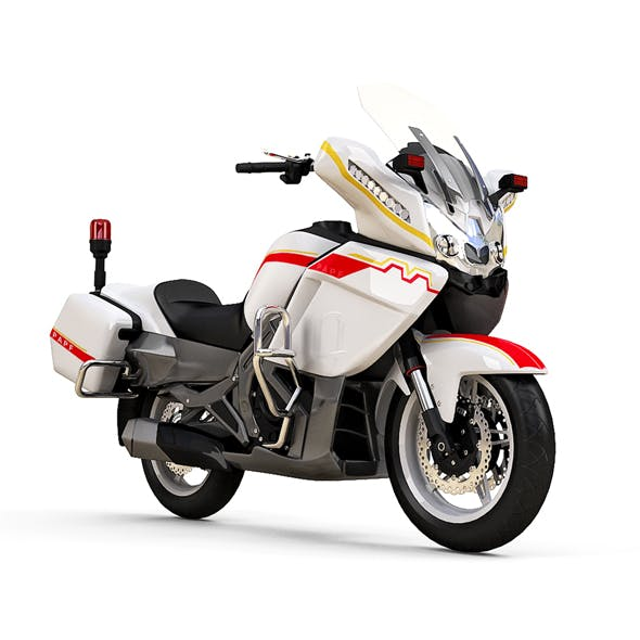 CFMoto 650CC Police Motorbike