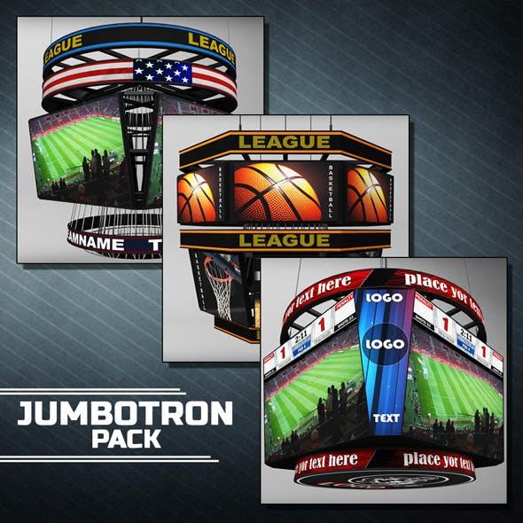 Jumbotron scoreboard sport pack
