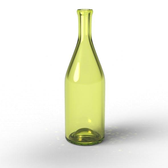 Basic Wine Bottle - 3DOcean Item for Sale