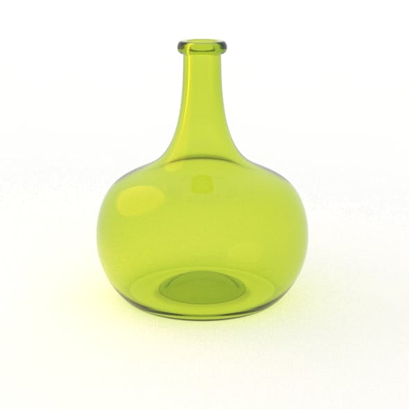 Dutch Golden Age Onion Wine Bottle - 3DOcean Item for Sale