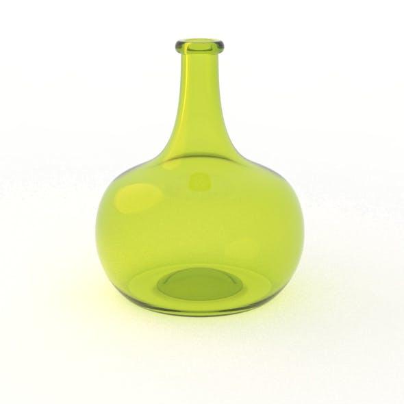 Dutch Golden Age Onion Wine Bottle