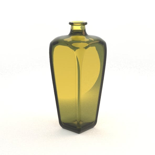 Dutch Geneva Spirit Bottle - 3DOcean Item for Sale