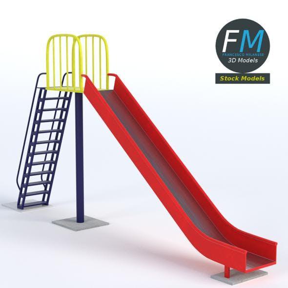 Park slide - 3DOcean Item for Sale