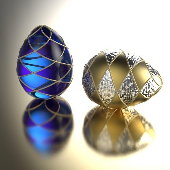 Faberge Egg - 3DOcean Item for Sale