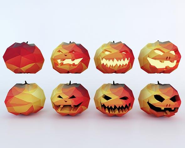 Cartoon Pumpkins Set - 3DOcean Item for Sale