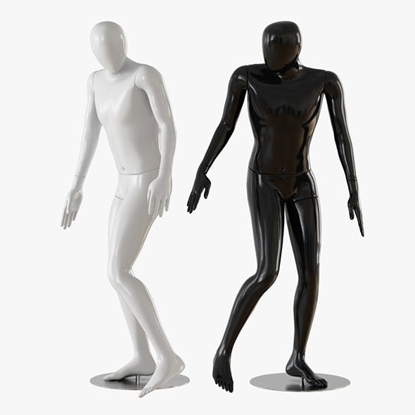 Abstract man mannequin - 3DOcean Item for Sale