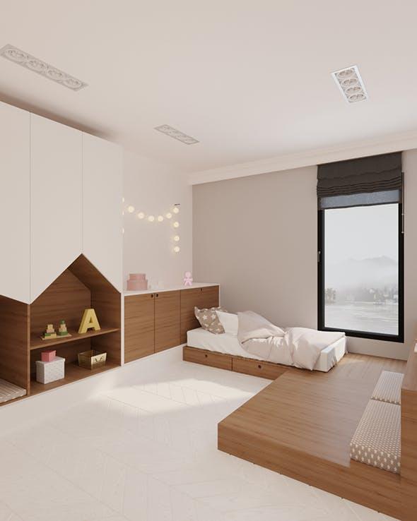 Kidsroom - 3DOcean Item for Sale