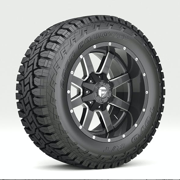 OFF ROAD WHEEL AND TIRE 7