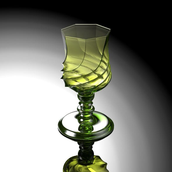 Seven Swirly Liqueur Glass