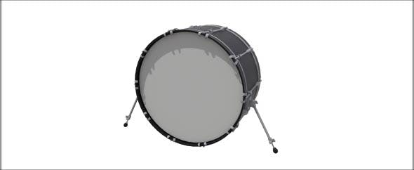 Bass Drum - 3DOcean Item for Sale
