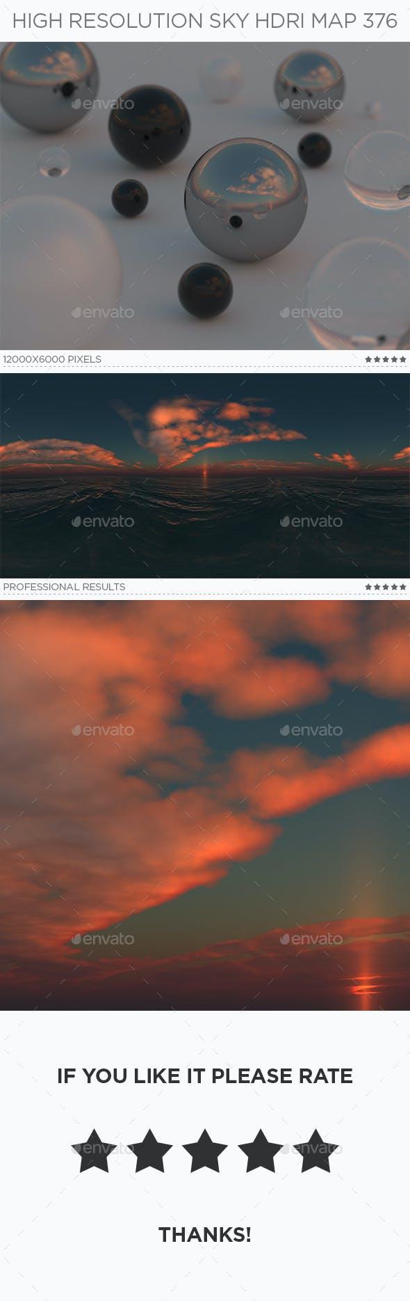 High Resolution Sky HDRi Map 376 - 3DOcean Item for Sale