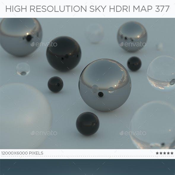 High Resolution Sky HDRi Map 377