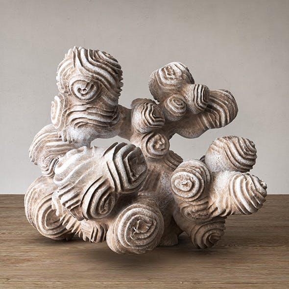 Author sculpture coral - 3DOcean Item for Sale