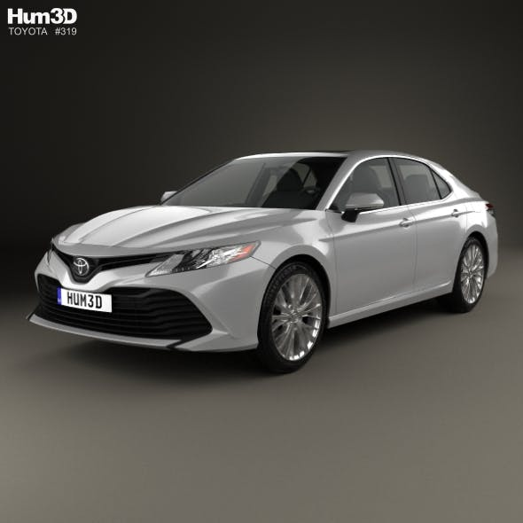 Toyota Camry XLE hybrid 2017 - 3DOcean Item for Sale