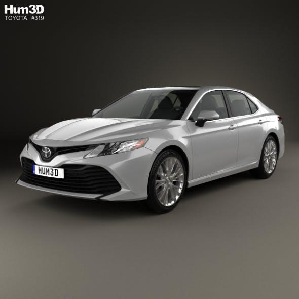 Toyota Camry XLE hybrid 2017