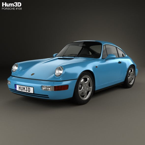 Porsche 911 Carrera RS Coupe (964) 1992 - 3DOcean Item for Sale