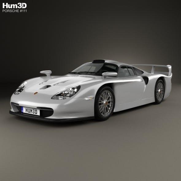 Porsche 911 GT1 Stradale (993) 1996 - 3DOcean Item for Sale