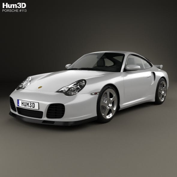 Porsche 911 Turbo Coupe (996) 2000 - 3DOcean Item for Sale