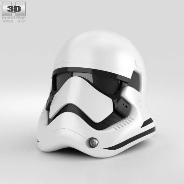 Stormtrooper Helmet - 3DOcean Item for Sale