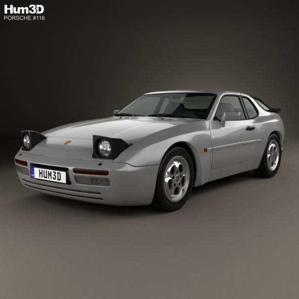 Porsche 944 Turbo 1985 - 3DOcean Item for Sale