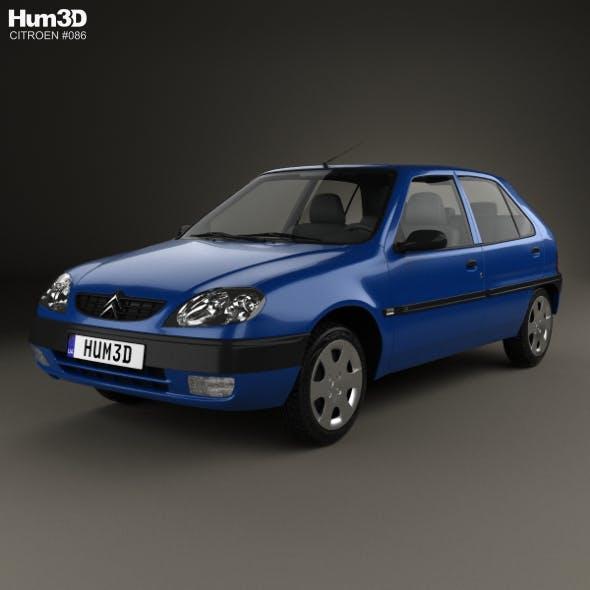 Citroen Saxo 1999 - 3DOcean Item for Sale