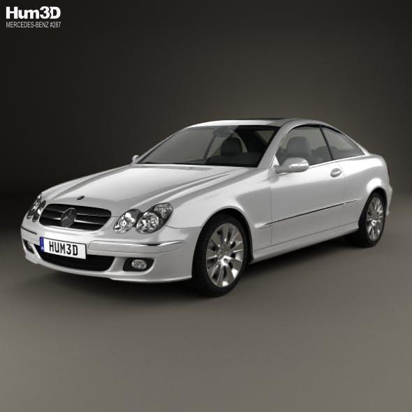 Mercedes-Benz CLK-Class (C209) Coupe 2005 - 3DOcean Item for Sale