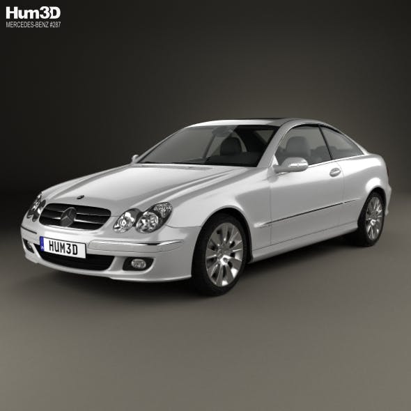 Mercedes-Benz CLK-Class (C209) Coupe 2005