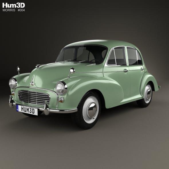 Morris Minor 1000 Saloon 1962 - 3DOcean Item for Sale
